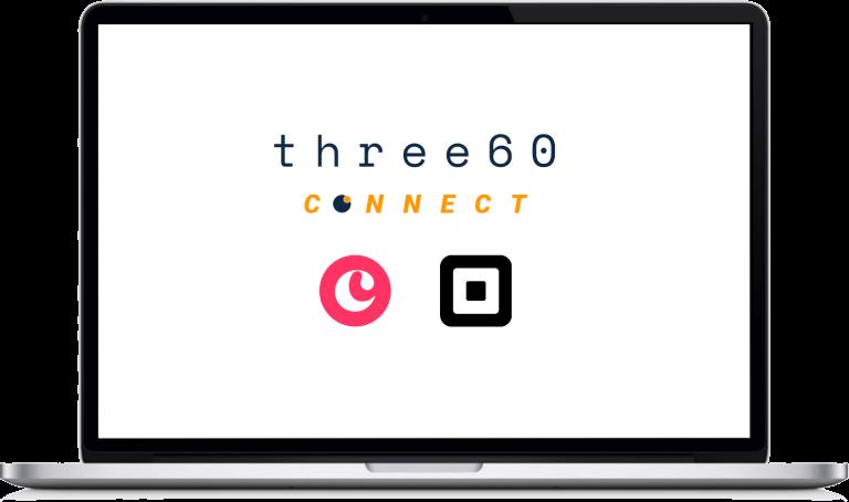 three60 connect copper square